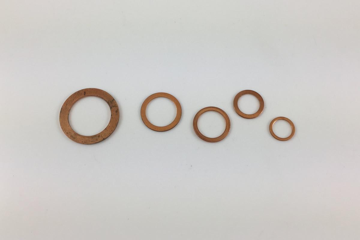 Kupfer Ringe
