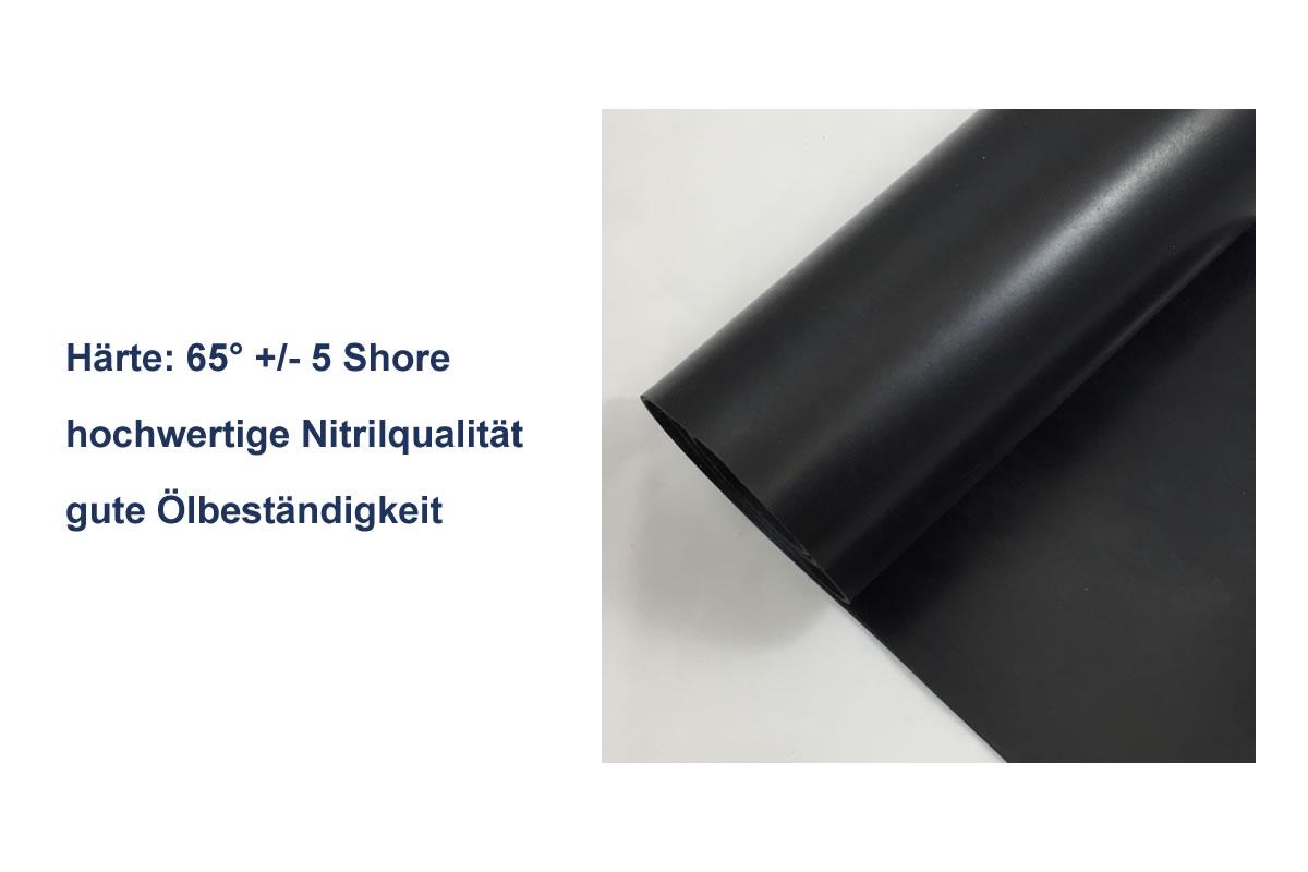 Gummiplatten Qualität NBR