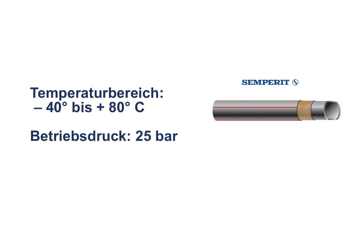 Druckluftschlauch Semperit TU 25