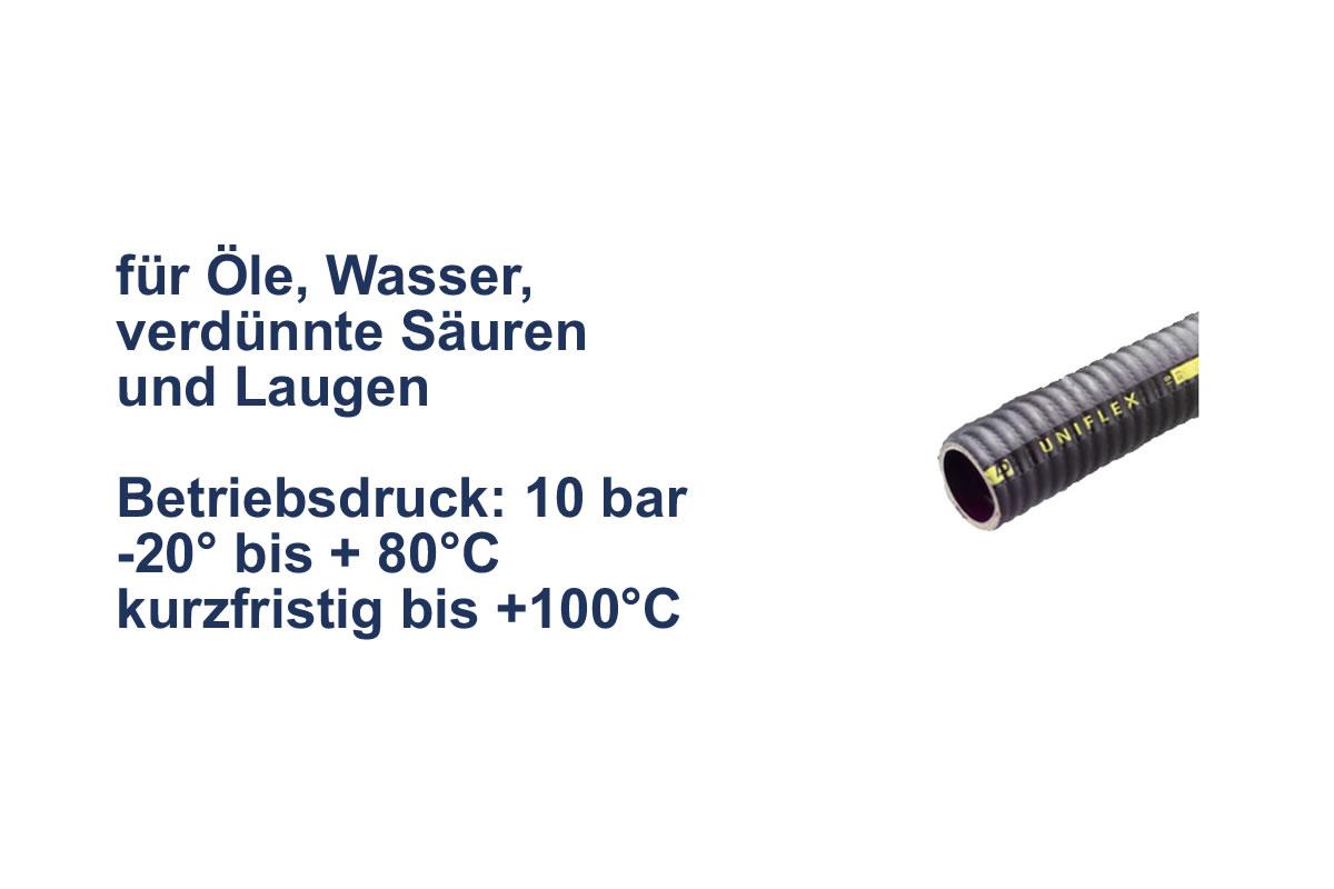Uniflex Saug- und Druckschlauch